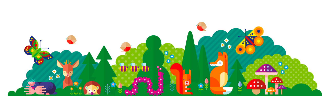 Play2inspire forest animals